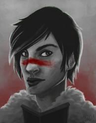 Hawke portrait by Aryksa