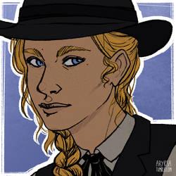 Portrait - Jane Beauregard by Aryksa