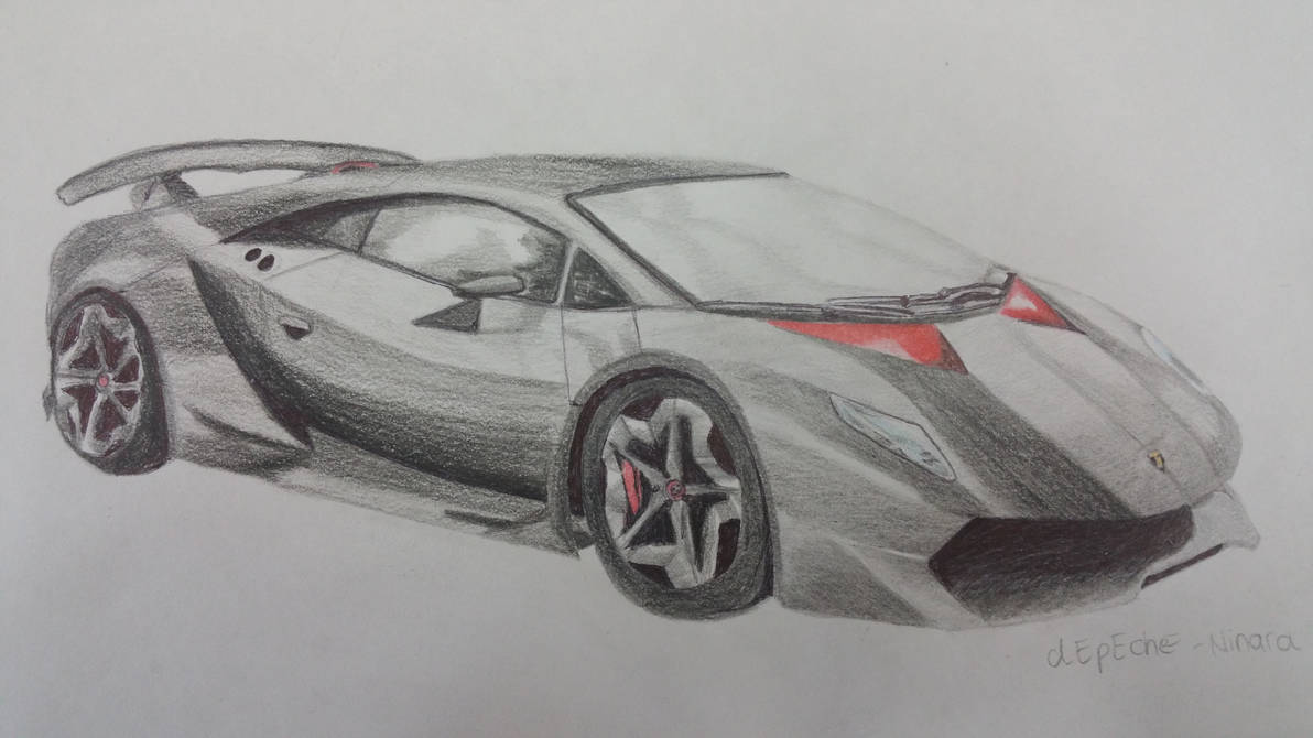 Lamborghini Sesto Elemento By Depeche Ninara On Deviantart