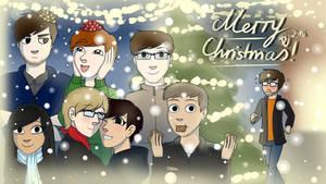 Merry Christmas 2016! + SPEEDPAINT by DannyWade