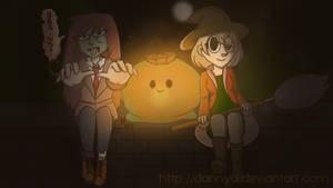 Happy Halloween! (+SPEEDPAINT) by DannyWade