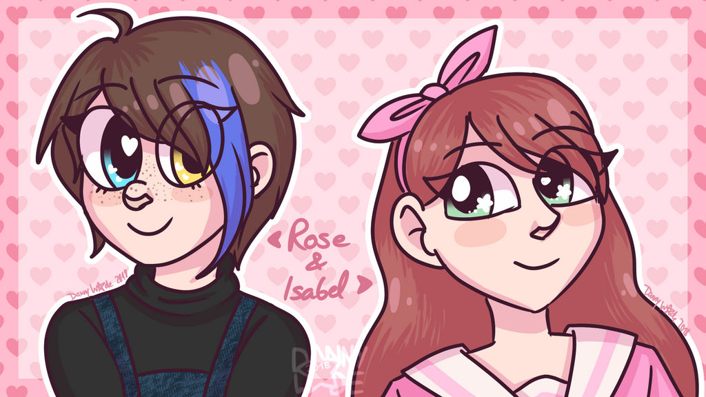 Rose and Isabel by DannyWade