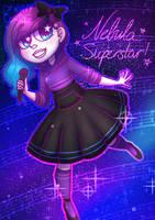 Nebula Superstar! (+ Speedpaint!) by DannyWade