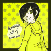 Huevember #1: Danny 2012 by DannyWade