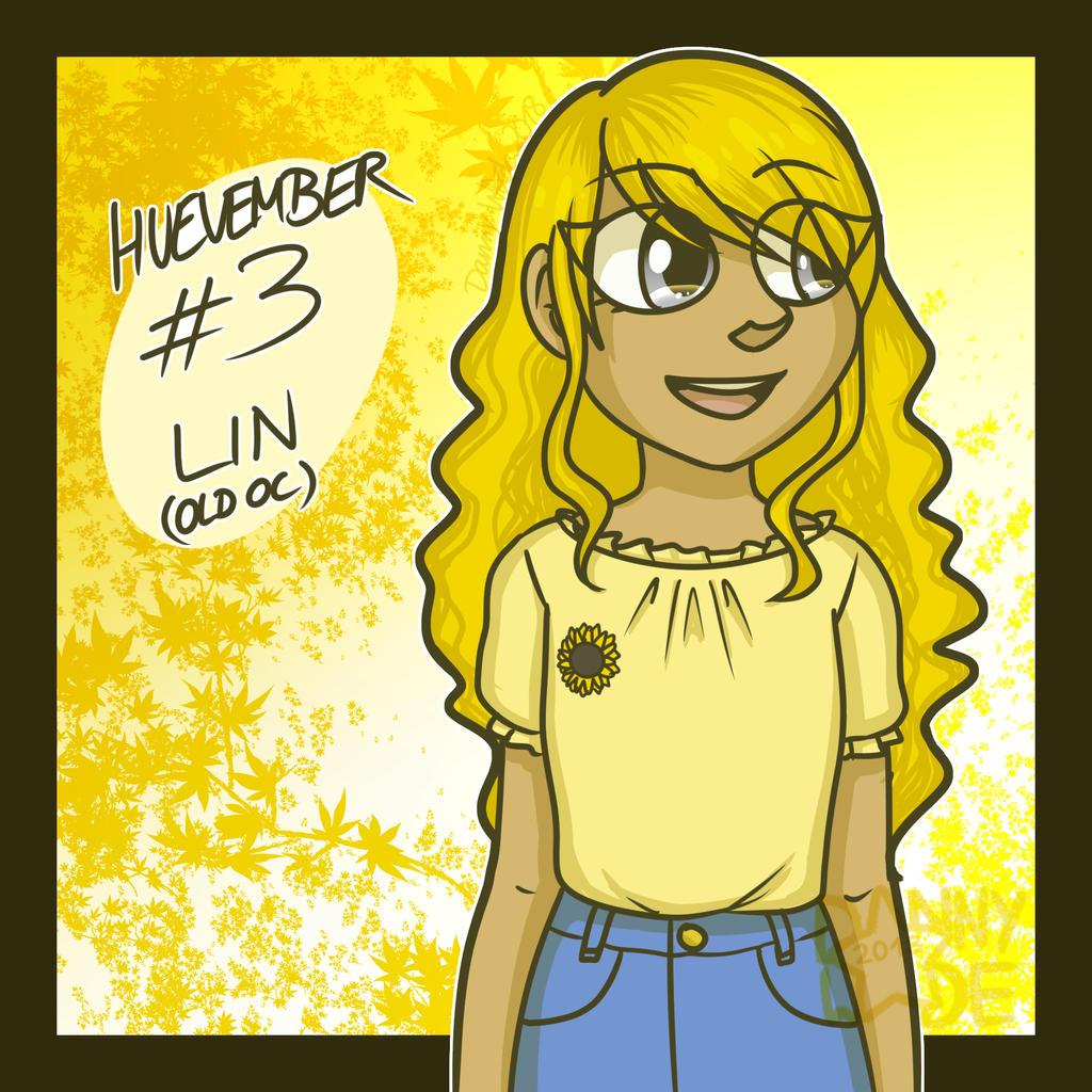 Huevember #3: Lin by DannyWade