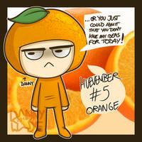 Huevember #5: Orange by DannyWade