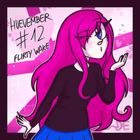 Huevember #12: Flirty Wake by DannyWade