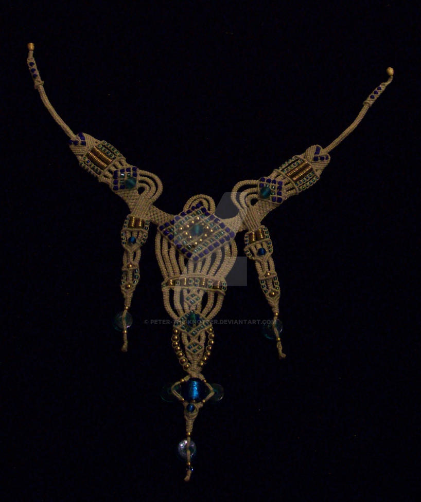 Necklace: Sheheradzade by Peter-The-Knotter