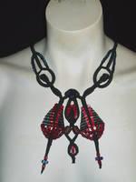 Bloodmoon Hawkmoth Pendant
