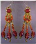 Earrings Desert Fire