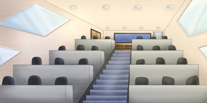 Empty Classroom By JaymiSaeki