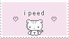 i peed | f2u stamp by NECROPHlLE
