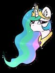 Celestia [discord request] by Pandorasia
