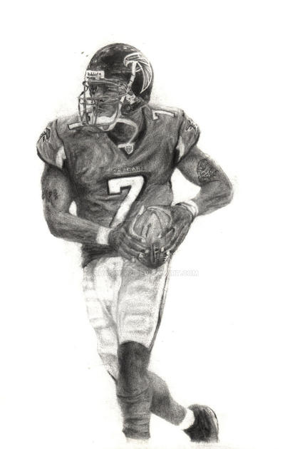 Michael Vick 2004 by chaskillz