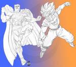 Superman VS Goku DC VS DBZ