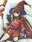 Crimson Demon, Megumin by 12345t67