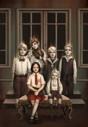 Book Cover - Danur by ochunk