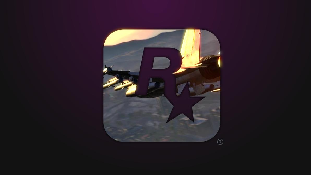 Ipad Retina Hd Wallpaper Rockstar Games: Rockstar Games Logo Wallpaper [HD] [GTA V] By TwillReX On
