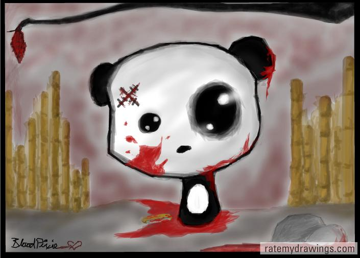 panda emo girl by - photo #32