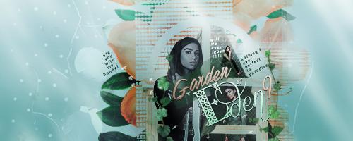 Dua Lipa / Garden of Eden signature by cherimilk
