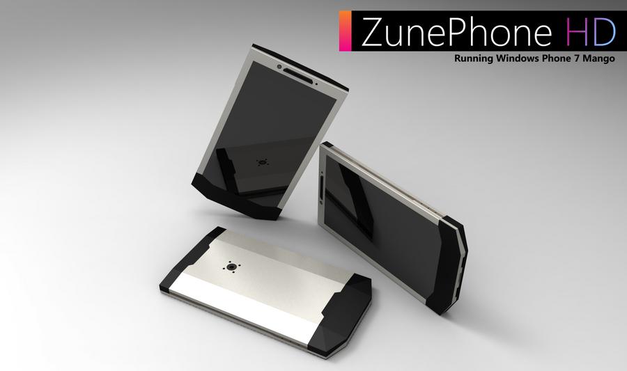 Zune Phone HD by Halfingr