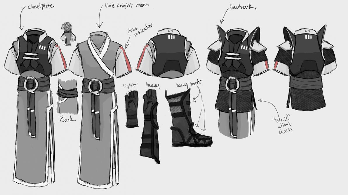 Void Knight Rework Concept - Direction #2 by Halfingr