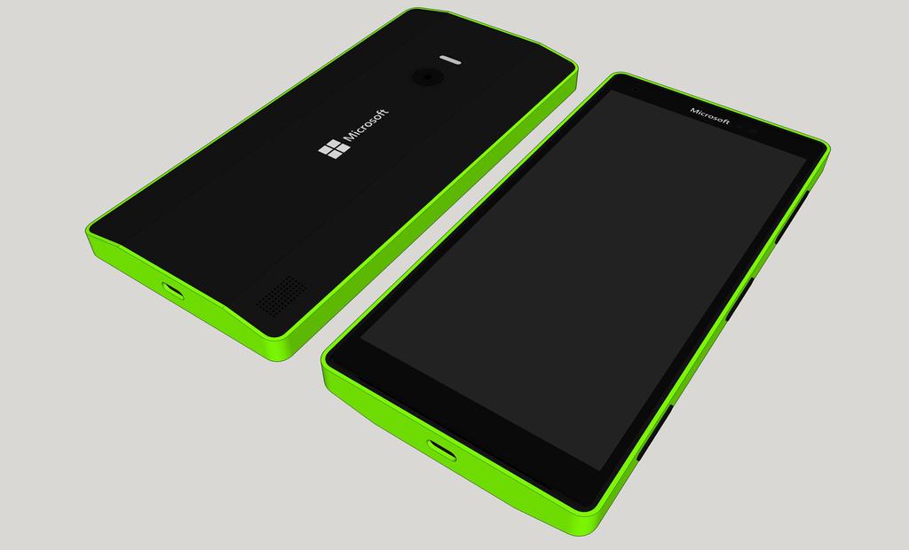Microsoft Lumia Concept by Halfingr