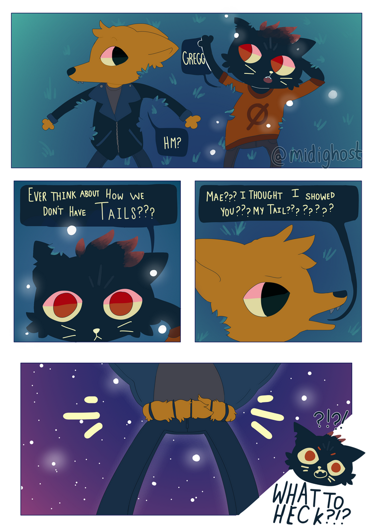 Gregg's Secret by midighost