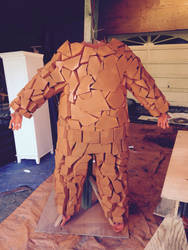 The Thing WIP suit  by onepoint21