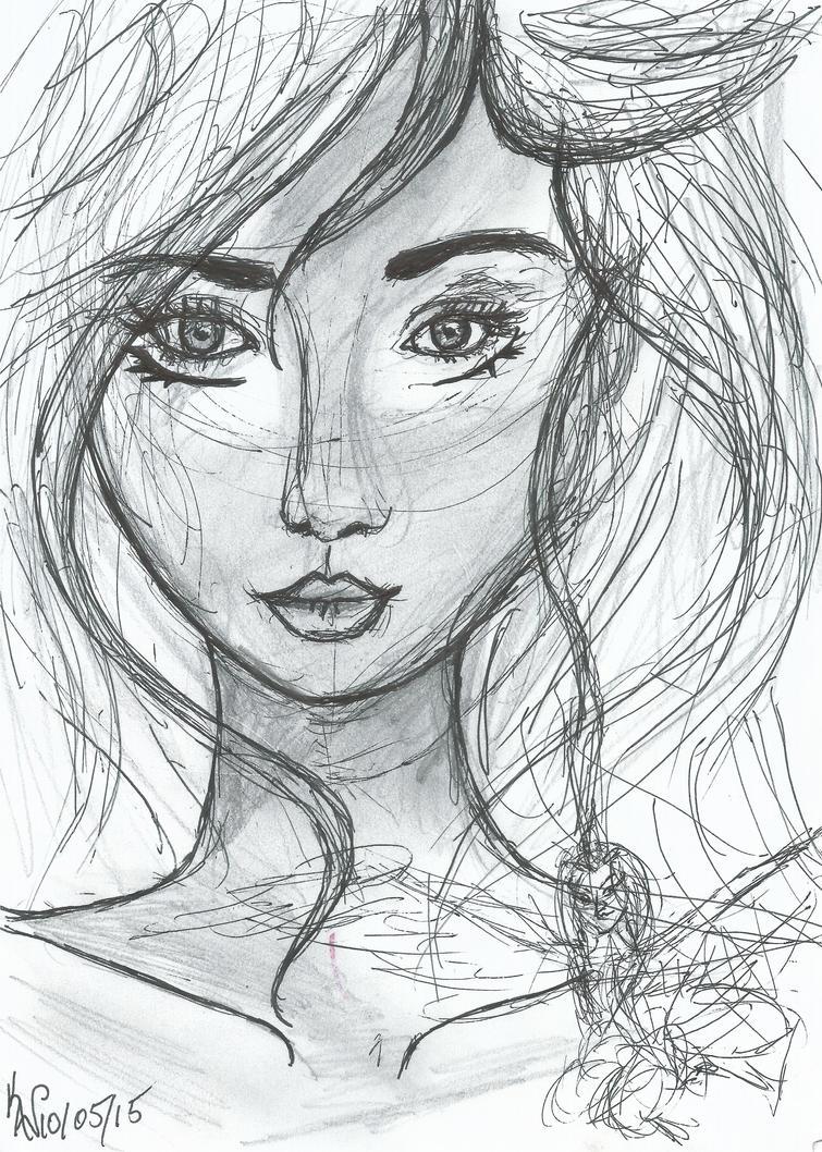 Winged Lady by Krysta-Khaos
