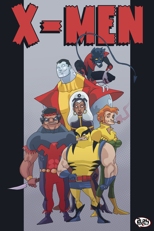 X-men second generation by alexsantalo