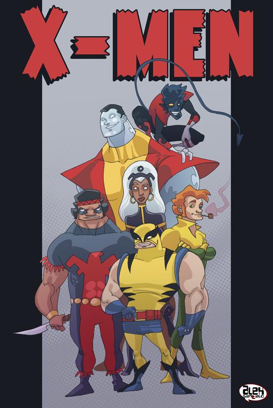 X-men second generation by alexsantalo