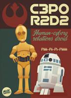 Star wars droids by alexsantalo