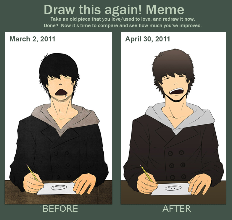 MEME: Before and After. by Drink-More-Water