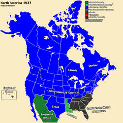 AltHist America Map 1937 3-3 by DaemonofDecay