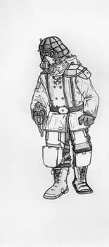 Sketchbook - Chemical Trooper
