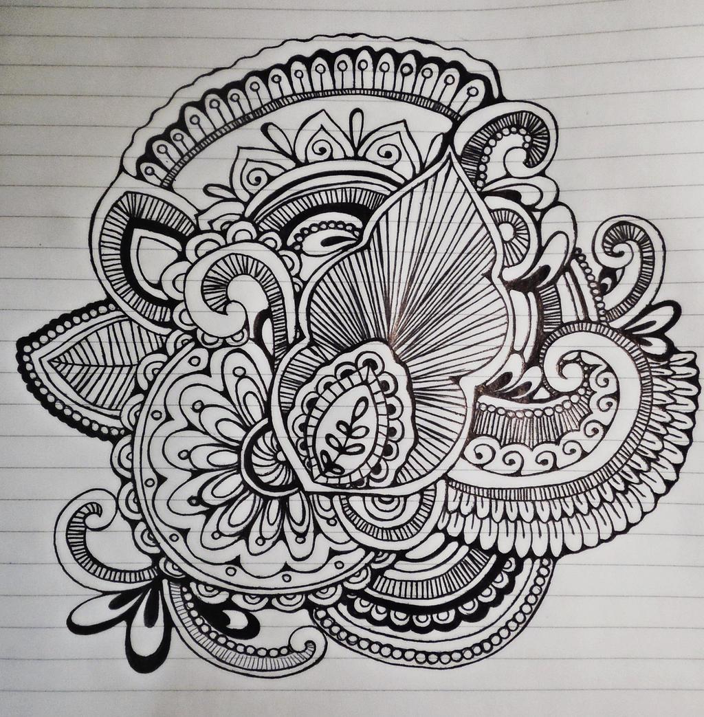 Paisley Flower by Urdeil