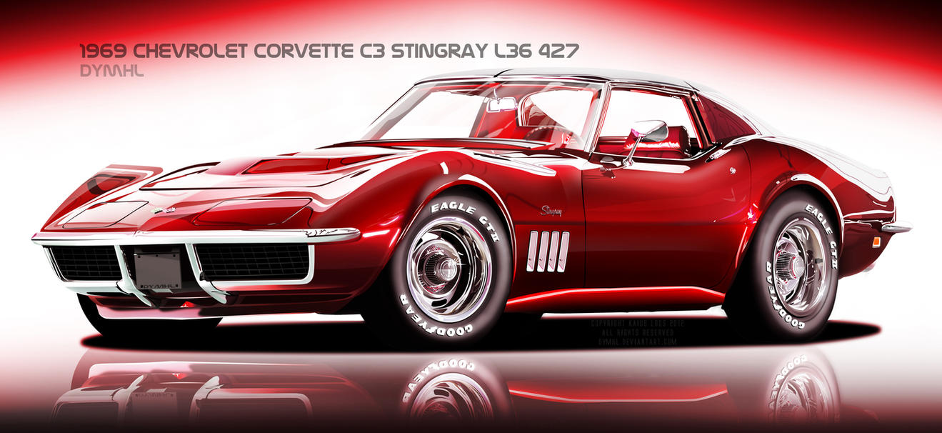 1969 Corvette C3 Stingray by DyMHL