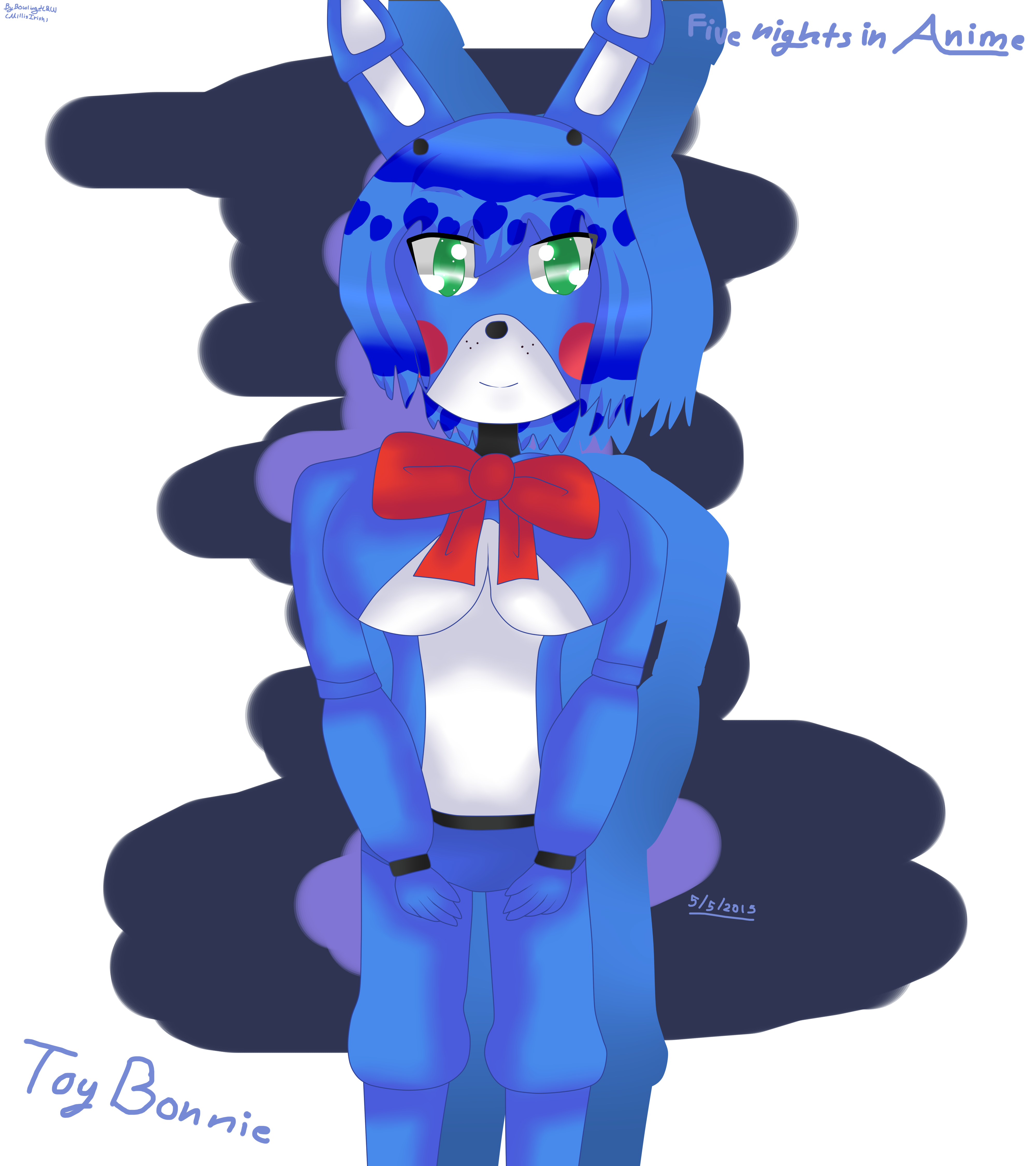 BowlingMillisIrish Toy Bonnie Five Nights In Anime Mouse Drawing By