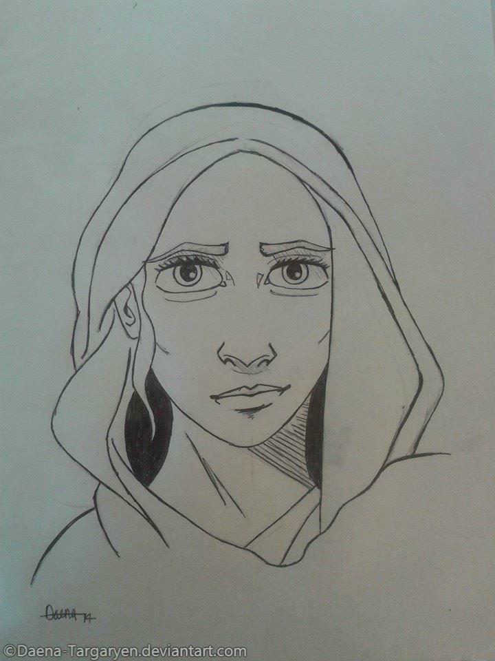 Daenerys Targaryen/Khaleesi Fanart by Daena-Targaryen