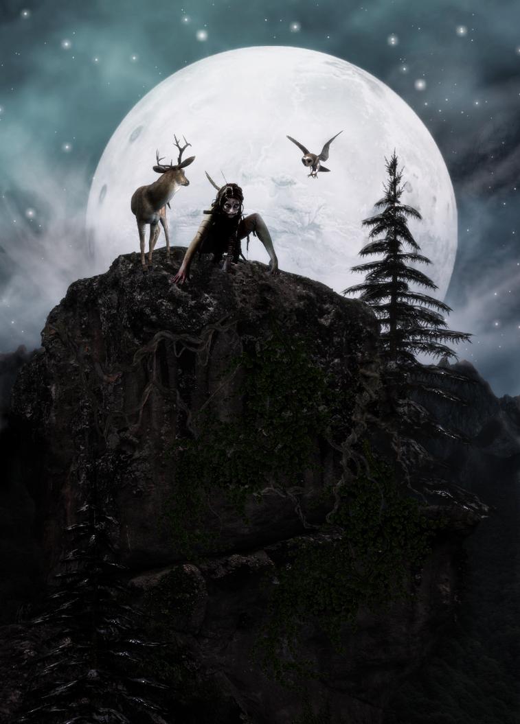Artemis by Fionnsgeullass