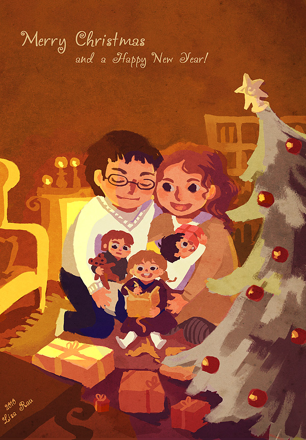Happy Holidays by Livanya