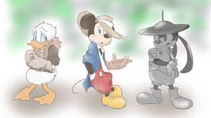 Three boys by chumo824