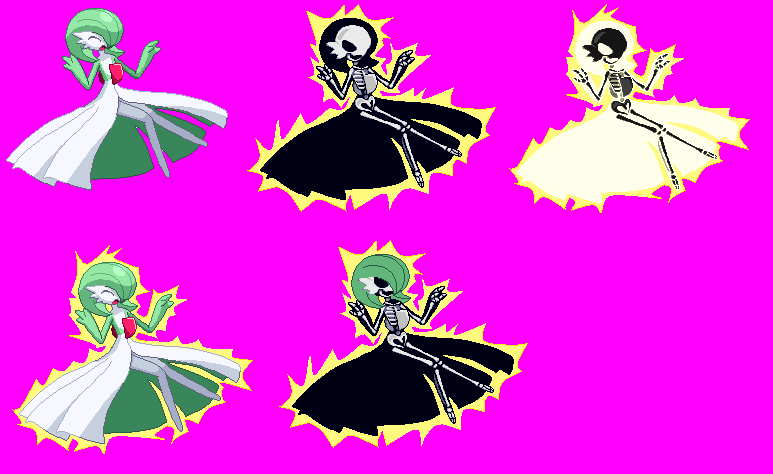 Double Release! MB & Shock Pack #5 + Spritesheets! Gardevoir_electrocuted_by_xenomic-d3d6g1x
