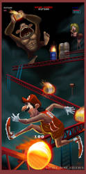 Donkey Kong! by Warpzonestudios