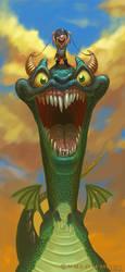 Dragon Kid by Warpzonestudios