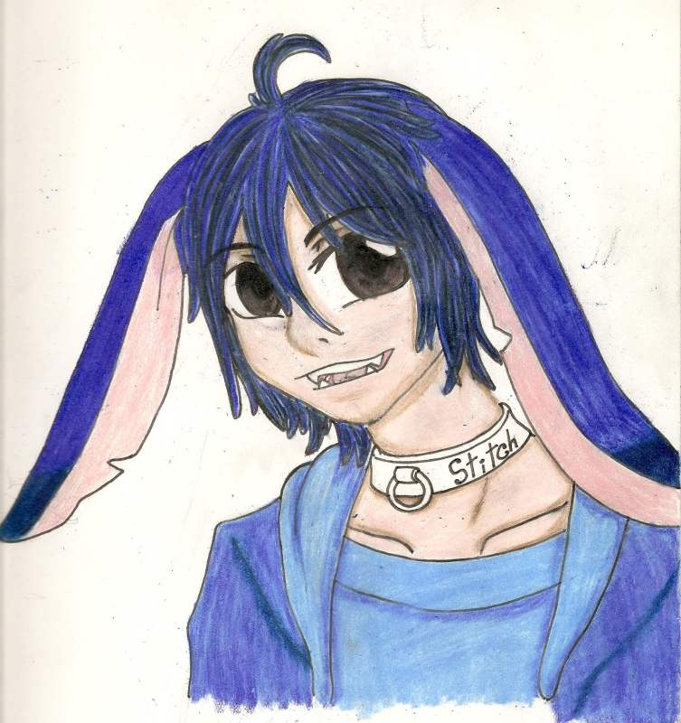 Stitch In Human Form By Taichan02 On Deviantart