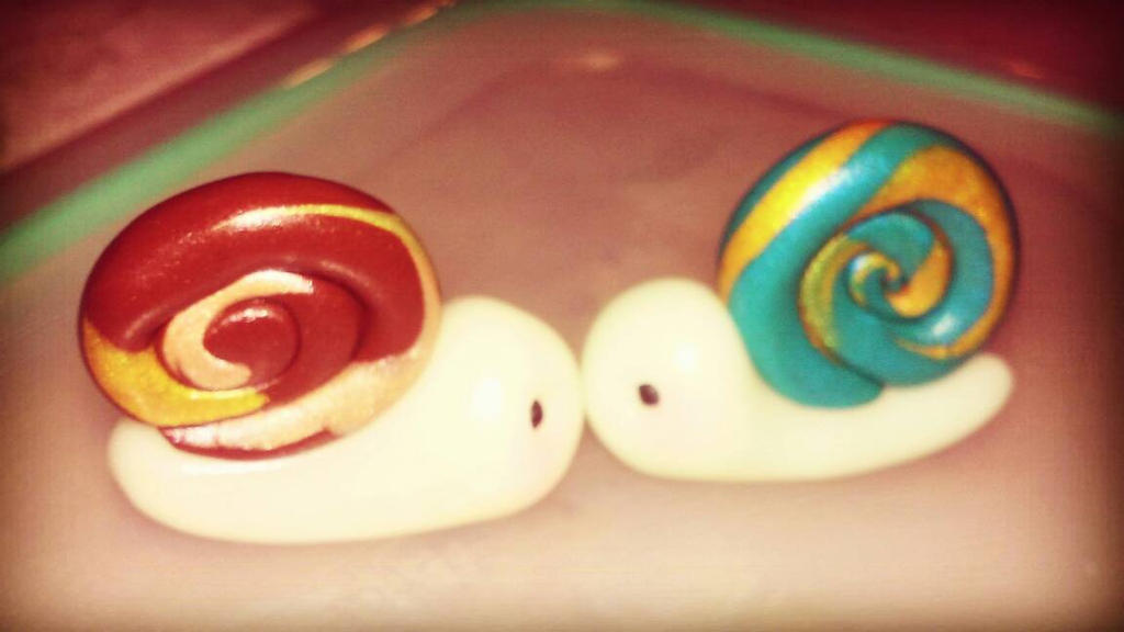Snails by undeadtyper