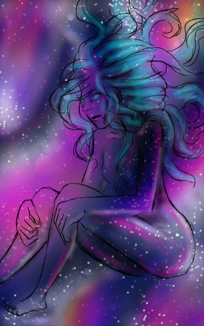 galaxy person-ish by undeadtyper