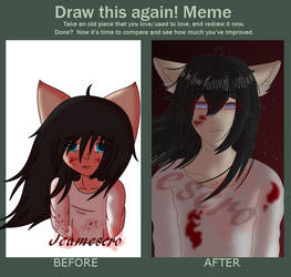 Redraw this meme - Red by Jeamesero